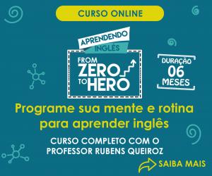 Inscrição Curso From Zero to Hero